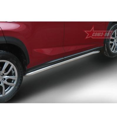 Пороги труба на Lexus NX LENX.80.5159