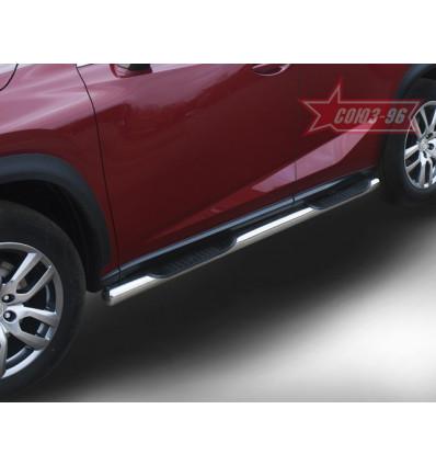 Пороги с проступями на Lexus NX LENX.81.5161