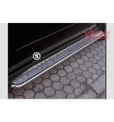 Пороги с листом на Lexus RX II 400 LEXR.82.0289