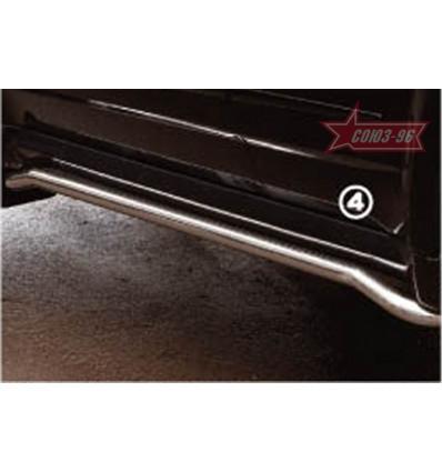 Защита штатного порога на Lexus RX II 400 LEXR.86.0290