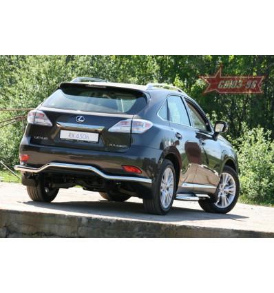 """Защита задняя """"волна"""" на Lexus RX III 350/450H LXRX.75.1102"""