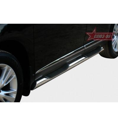 Пороги с проступями на Lexus RX III 270/350/450H LERX.80.1498LERX.81.1504