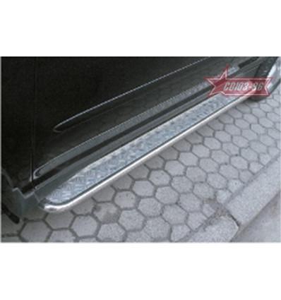 Пороги с листом на Lexus RX II 300/330 LEXR.82.0086
