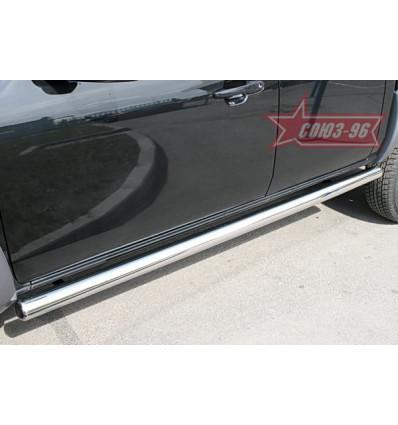 Пороги труба на Mazda BT50 MABT.80.0467