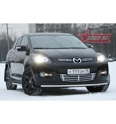 Защита переднего бампера на Mazda CX-7 MACX.48.0546