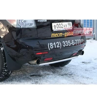 Защита задняя на Mazda CX-7 MACX.75.0552