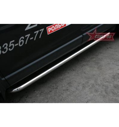 Пороги труба на Mazda CX-9 MACX.80.0798