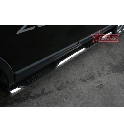 Пороги с проступями на Mazda CX-9 MACX.80.0798MACX.80.0799