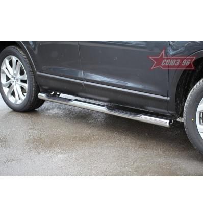 Пороги с проступями на Mazda CX-9 MCX9.81.1688