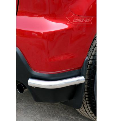 """Защита задняя """"уголки"""" на Mitsubishi ASX MASX.76.1138"""