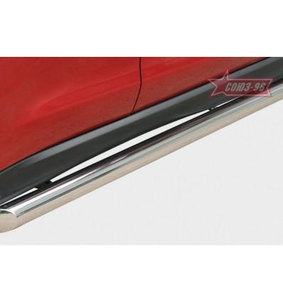 Пороги труба на Mitsubishi ASX MASX.80.1126