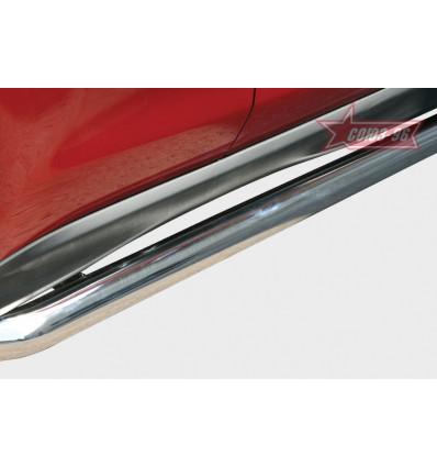 Пороги труба на Mitsubishi ASX MASX.80.1127