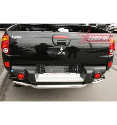 Защита задняя на Mitsubishi L200 MITL.75.0448