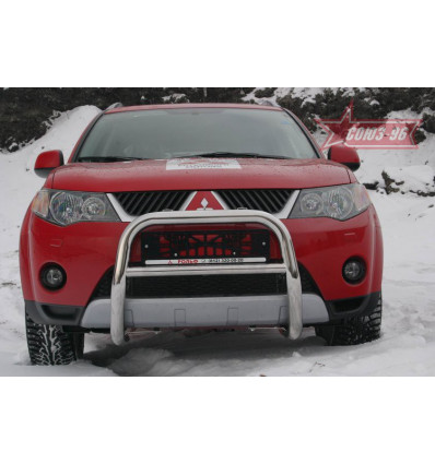 Решетка передняя мини на Mitsubishi Outlander XL MIOU.56.0410