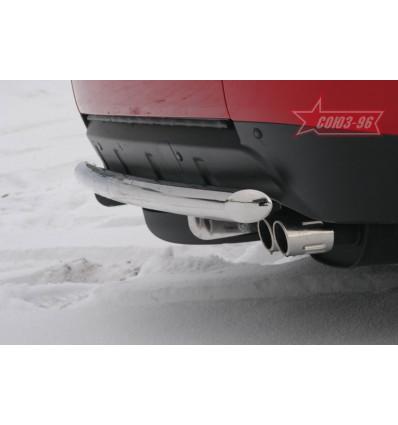 Защита задняя на Mitsubishi Outlander XL MIOU.75.0417