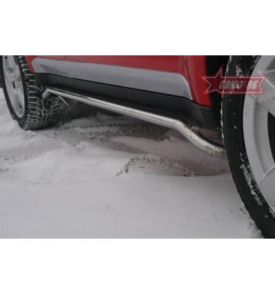 Защита порогов на Mitsubishi Outlander XL MIOU.86.0416