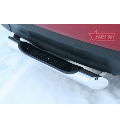 """Защита задняя """"ступень"""" на Mitsubishi Outlander XL MIOU.75.1039"""