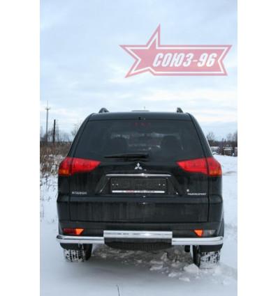 Защита задняя на Mitsubishi Pajero Sport  MIPS.75.0783