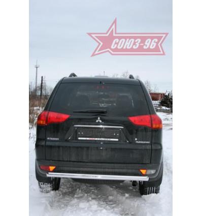 Защита задняя на Mitsubishi Pajero Sport  MIPS.75.0785