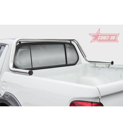 Защита задняя рама в кузов шалаш на Mitsubishi L200 MITL.39.5049