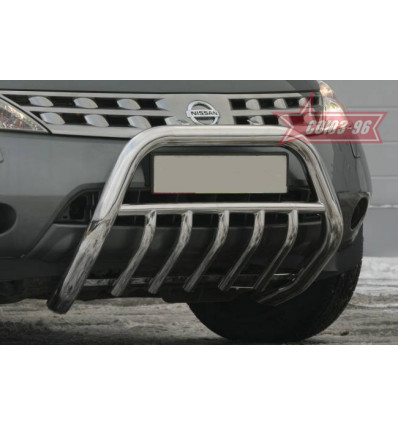 Решетка передняя мини на Nissan Murano  NMUR.57.0300
