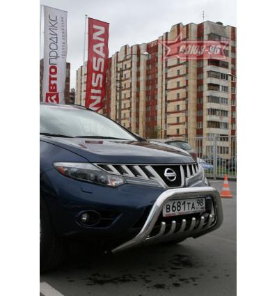 Решетка передняя мини на Nissan Murano  NMUR.57.0825