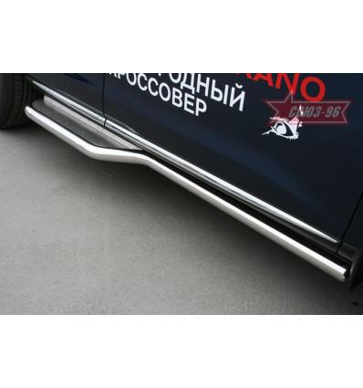 Пороги труба на Nissan Murano NMUR.82.0831