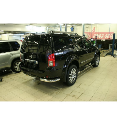 """Защита задняя """"уголки"""" Nissan Pathfinder NPTF.76.1069"""