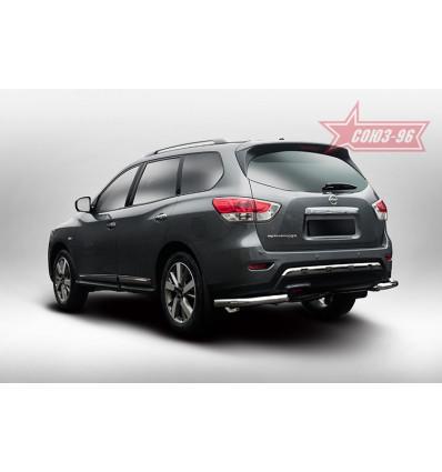 "Защита задняя ""уголки"" на Nissan Pathfinder NPTF.76.5223"