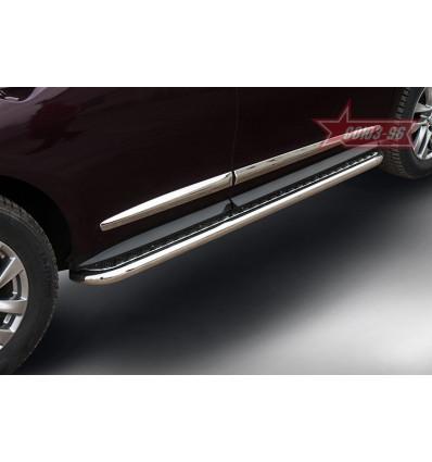 Пороги с проступями на Nissan Pathfinder NPTF.82.5208