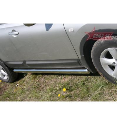 Пороги труба Nissan Qashqai NQSH.80.0453