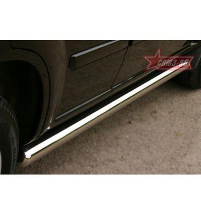 Пороги труба на Nissan X-Trail NXTR.80.0045