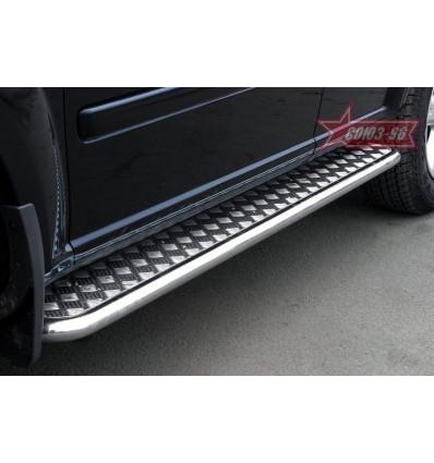 Пороги с листом на Nissan X-Trail NXTR.82.0293