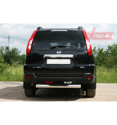 """Защита задняя """"ступень"""" на Nissan X-Trail NXTR.75.1295"""