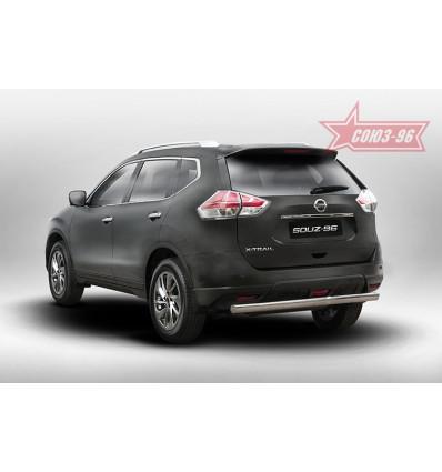 Защита задняя на Nissan X-Trail NXTR.75.5274