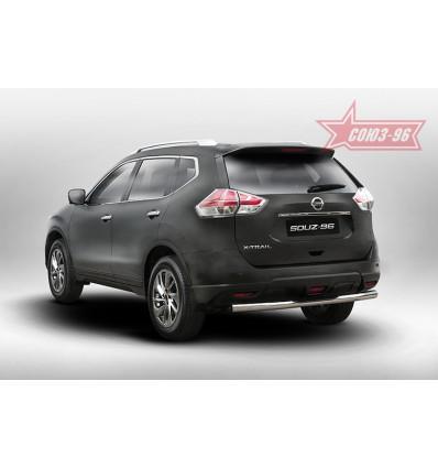 """Защита задняя """"ступень"""" на Nissan X-Trail NXTR.77.5279"""