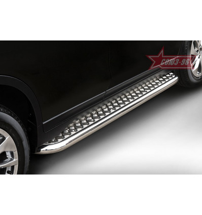 Пороги с листом на Nissan X-Trail NXTR.82.5211