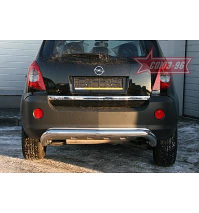Защита заднего бампера на Opel Antara OPAN.75.0588