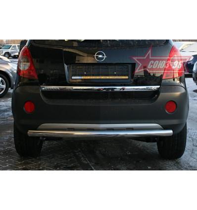 Защита заднего бампера на Opel Antara OPAN.75.0589