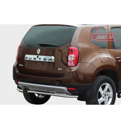 Защита задняя на Renault Duster RDU2.75.1467
