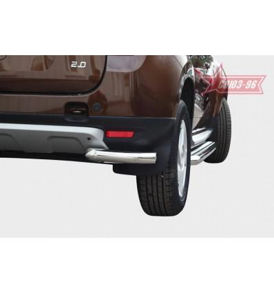 """Защита задняя """"уголки"""" на Renault Duster RDU2.76.1465"""