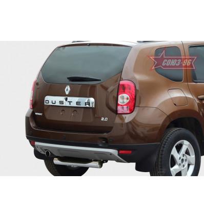 """Защита задняя """"ступень"""" на Renault Duster RDU2.77.1470"""