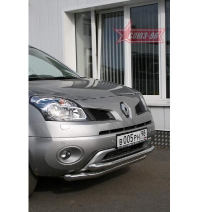 Защита переднего бампера на Renault Koleos RENK.48.0727