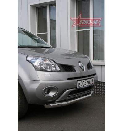 Защита переднего бампера на Renault Koleos RENK.48.0728