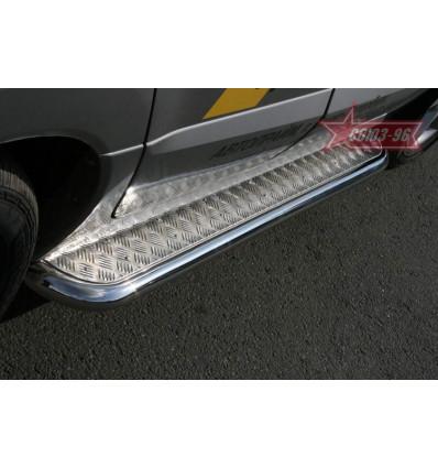 Пороги с листом бампера на Renault Koleos RENK.82.0729