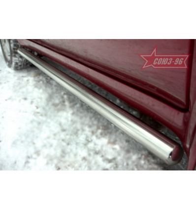 Пороги труба на Subaru Forester SUFR.80.0136