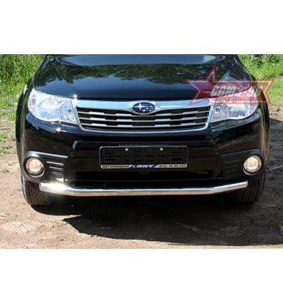 Защита переднего бампера на Subaru Forester SUFR.48.0690