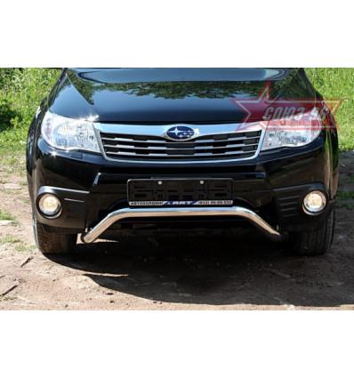 Защита передняя нижняя на Subaru Forester SUFR.59.0689