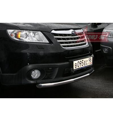 Защита переднего бампера на Subaru Tribeca SUTR.48.0651