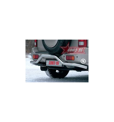"""Защита задняя """"волна"""" на Suzuki Grand Vitara SZGV.75.0141"""